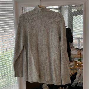 Topshop grey turtleneck sweater